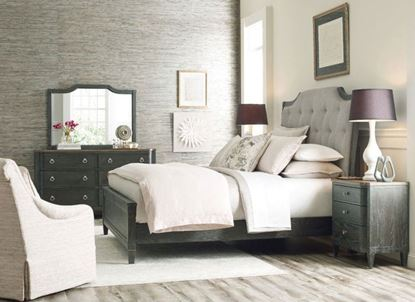 Ardennes Bedroom Collection with upholstered Lorraine bed