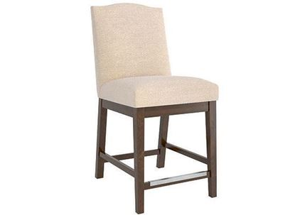 Canadel Transitional Upholstered Fixed Stool - SNF0310AJN19M24
