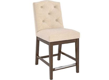 Canadel Classic Upholstered Fixed Stool - SNF08168JN19M24