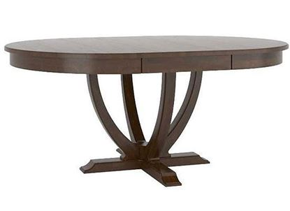 Canadel Classic Oval and Round Wood Table - TOV048681919MCPNF